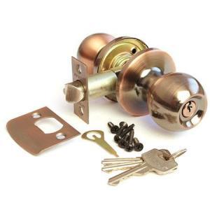 Защелка Апекс 6072-01AС (ключ)