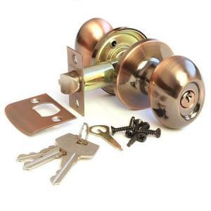 Защелка Апекс 6093-01AС (ключ)